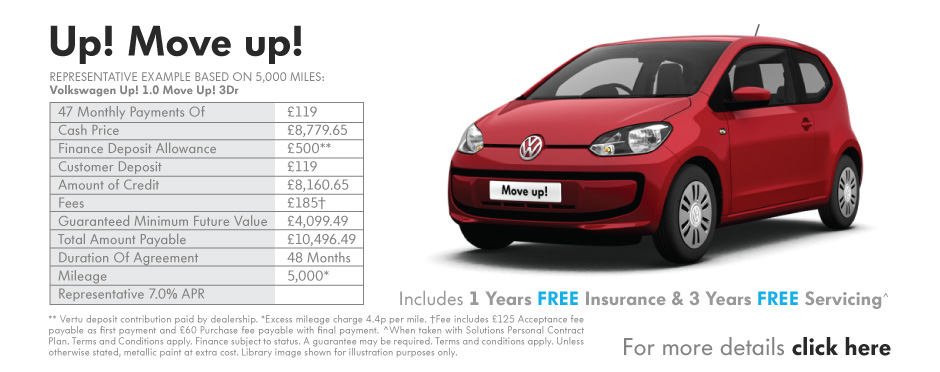 Volkswagen Up! Move Up! 3dr