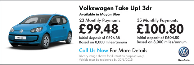 Volkswagen Contract Hire Special Offers