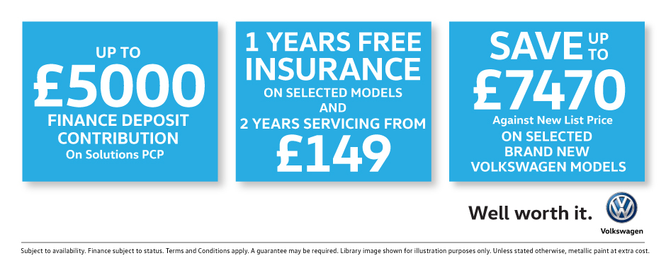 Volkswagen Savings Banner