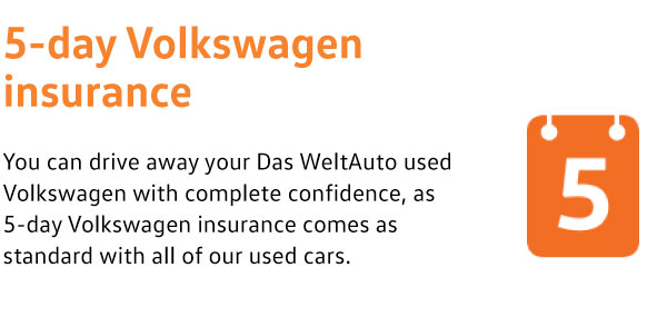5 Day Volkswagen Insurance