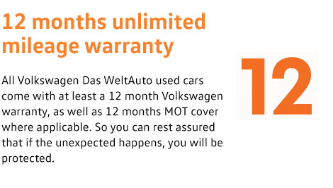 2 Years' Unlimited Mileage Warranty