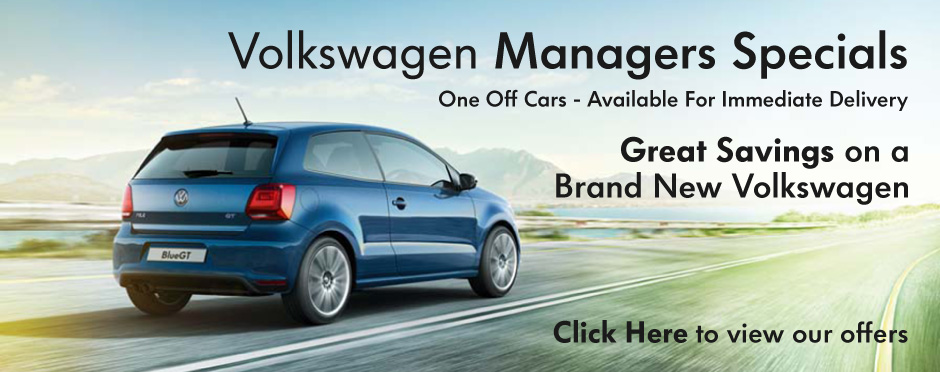 Volkswagen Manager Specials - Vertu VW
