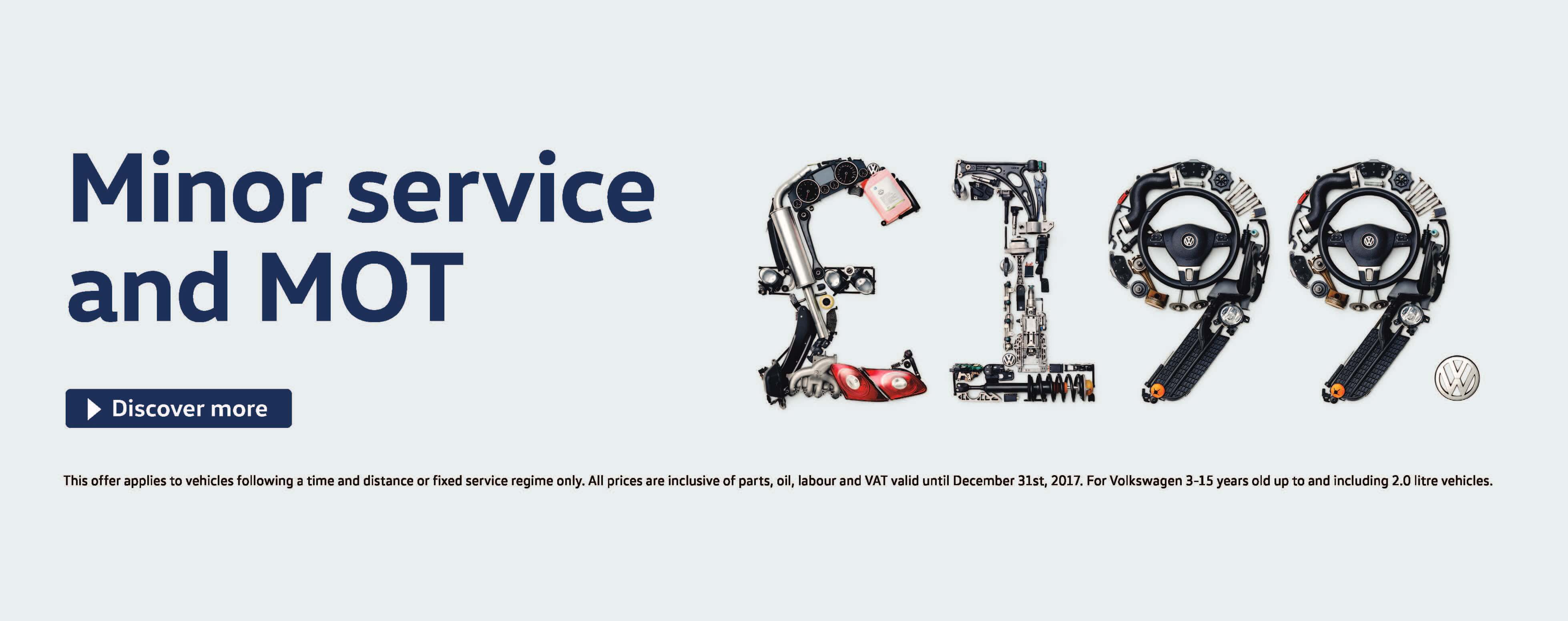 Volkswagen Servicing Offer