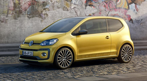 New Volkswagen up! set to premiere at the Geneva Motor Show