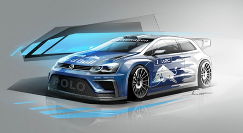 Volkswagen reveals initial shots of 2017 Polo R WRC