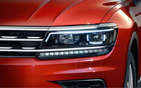 Volkswagen Tiguan LED Headlights