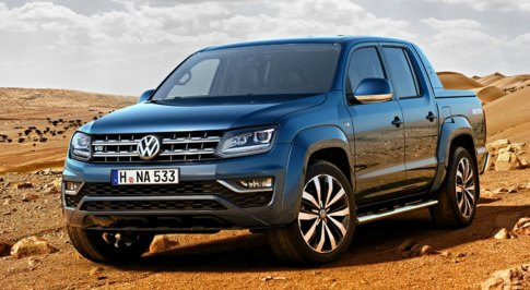 Facelift for the Volkswagen Amarok