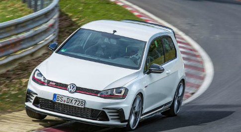 Volkswagen celebrates 40 years of Golf GTI at Goodwood Festi