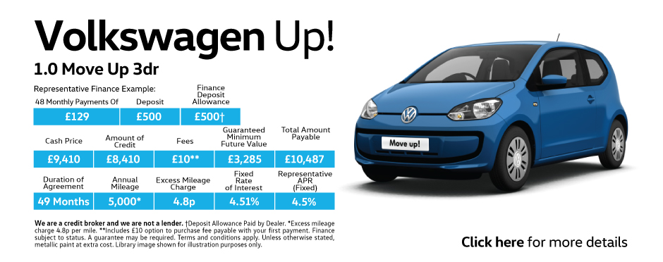 Volkswagen Up Free Insurance