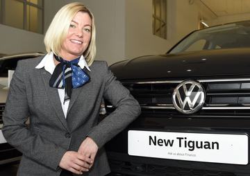 Vertu Volkswagen Hereford promotes long-standing colleague
