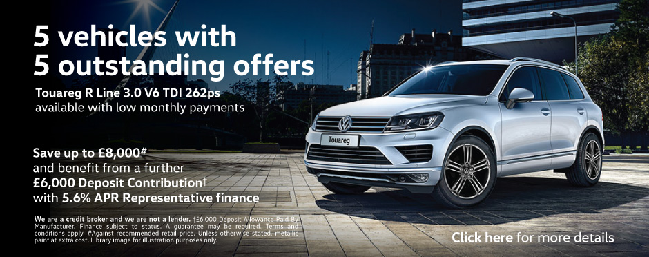 Volkswagen Touareg - 5 Special Offers