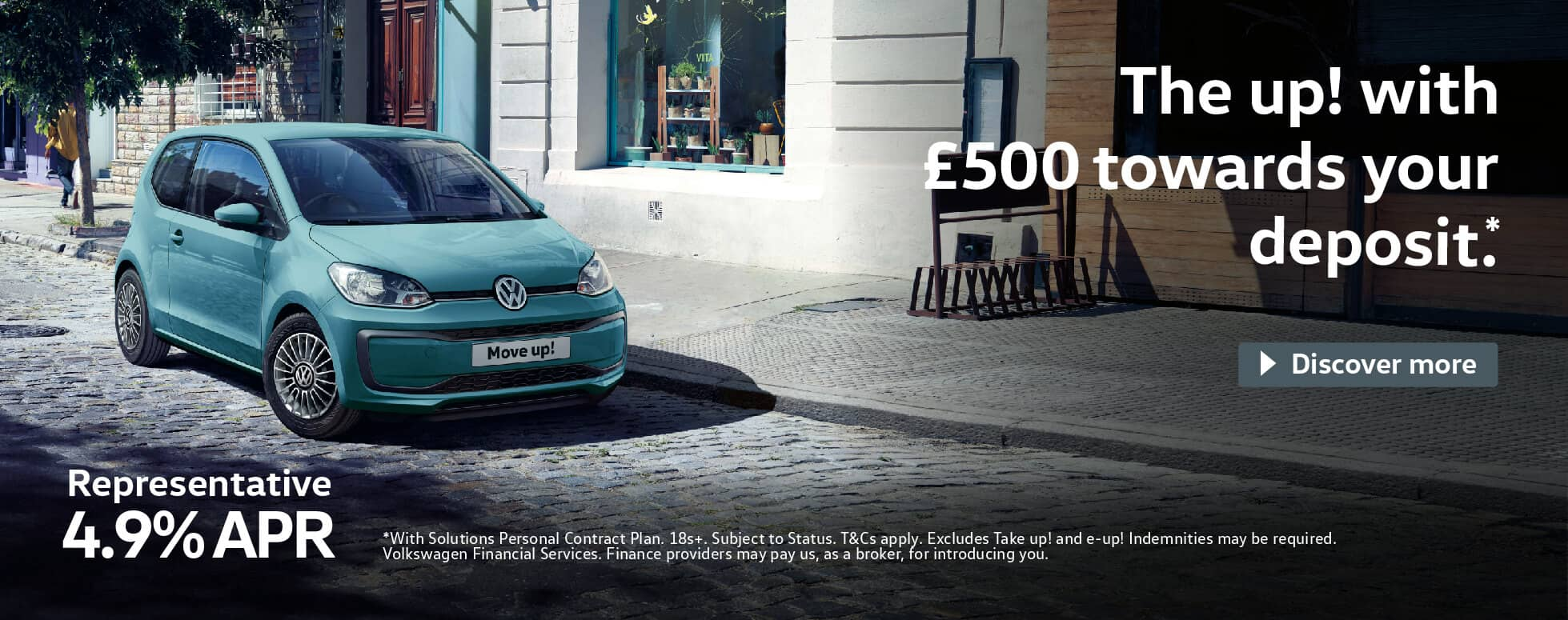 Volkswagen Up Move Up BB