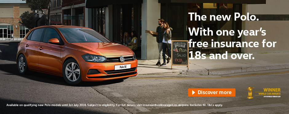 New Volkswagen Polo - Insurance Offer