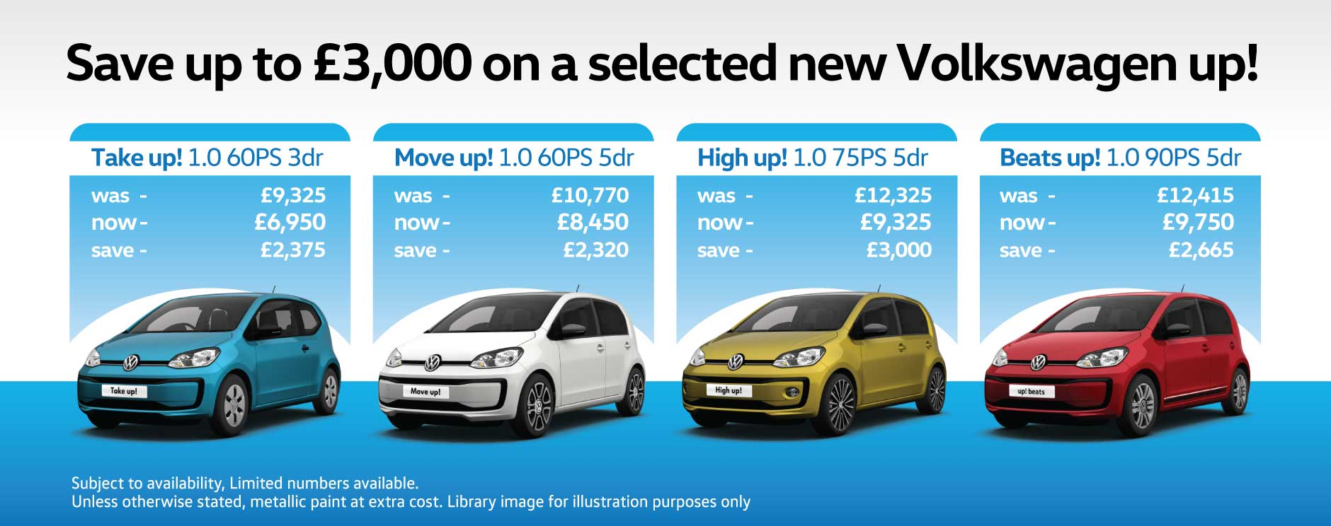 Volkswagen Up Cash Price BB