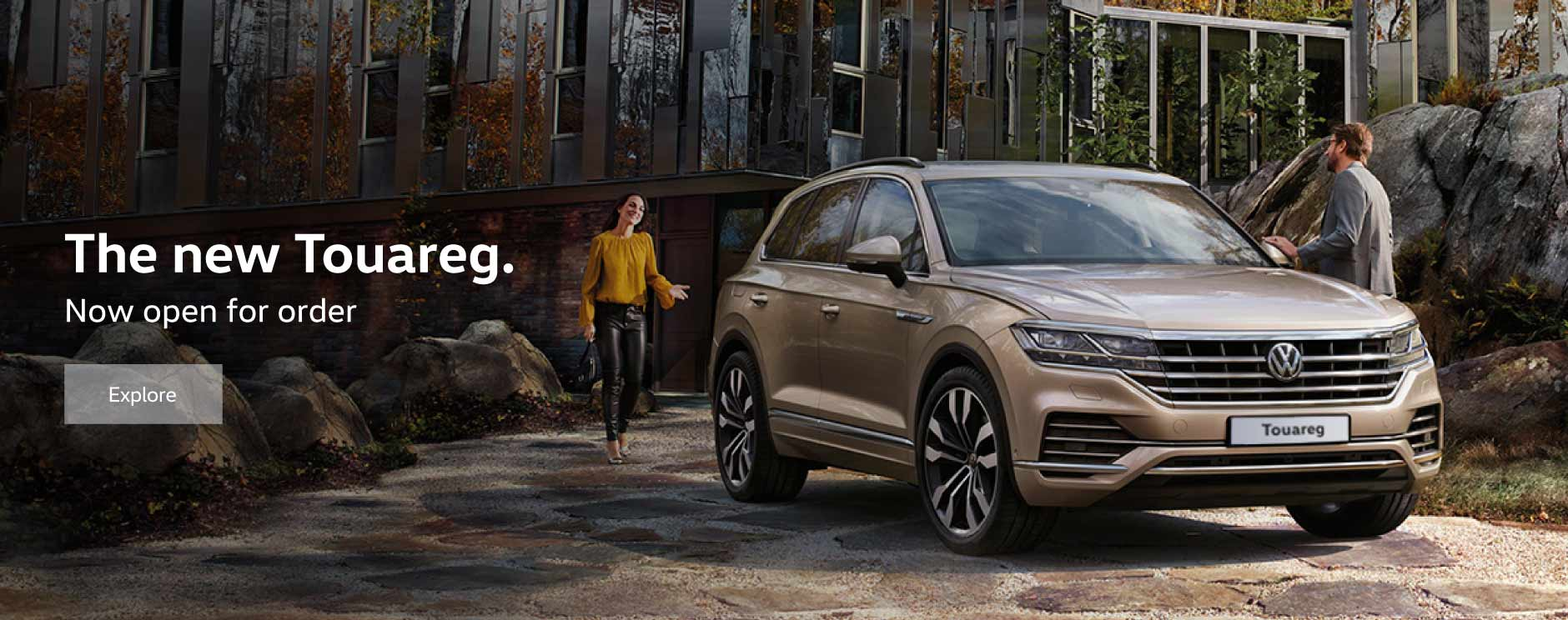 All New Volkswagen Touareg BB