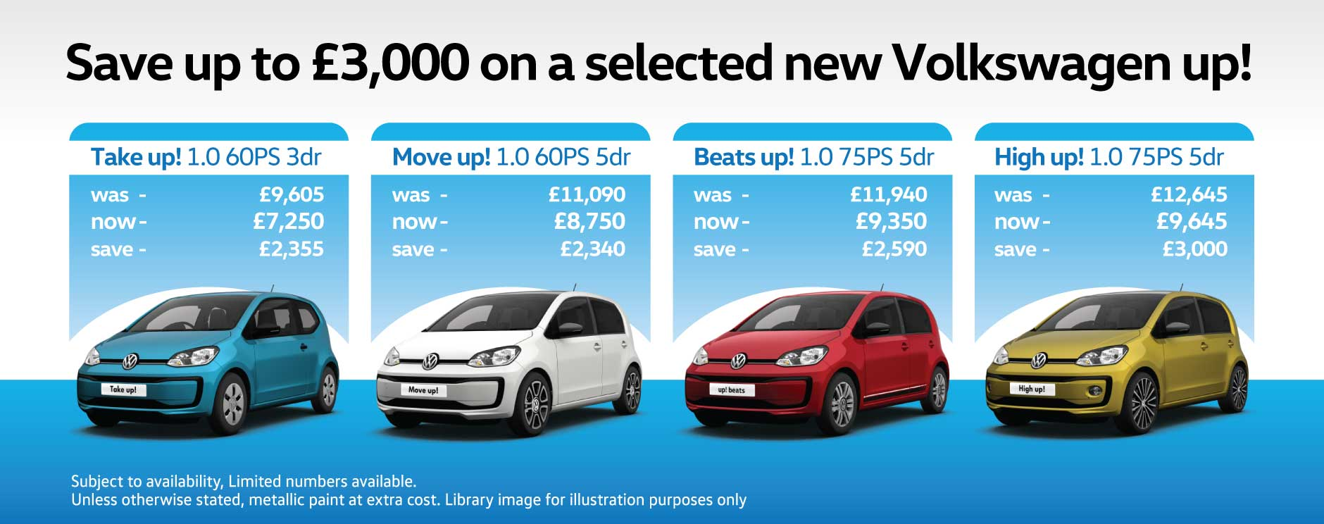Volkswagen up cash WNS bb 110918