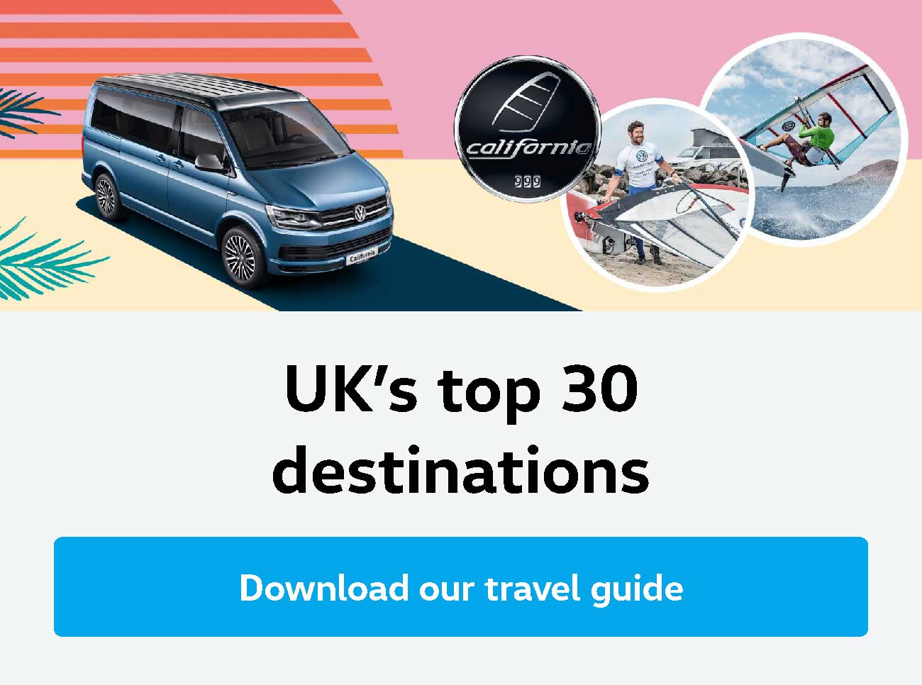 Volkswagen California Top Destinations