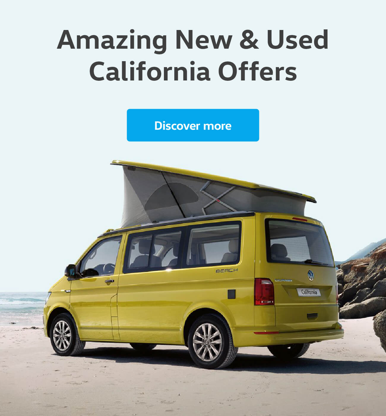 Volkswagen California Offers