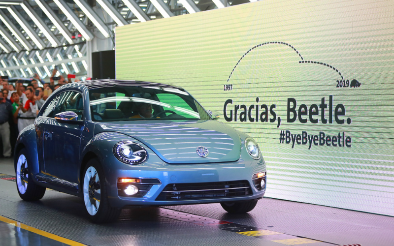 It's Time To Say Goodbye To The VW Beetle