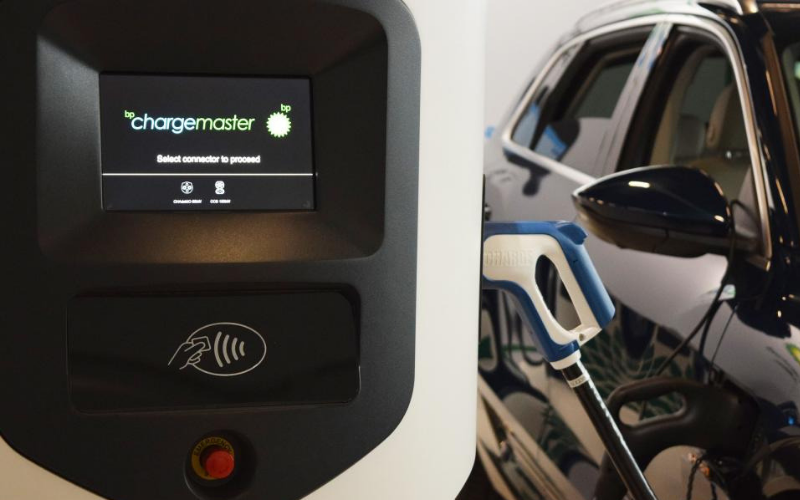 Contactless Payment To Be Accessible At EV Charging Points By 2020