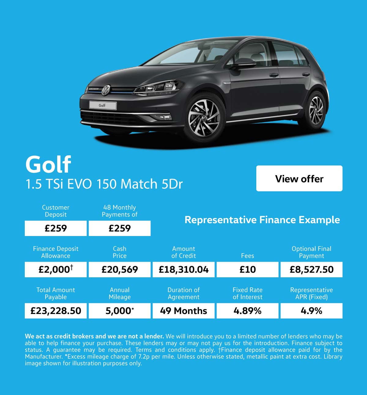 [Volkswagen Golf] VW Golf Match 131119 Banner 1