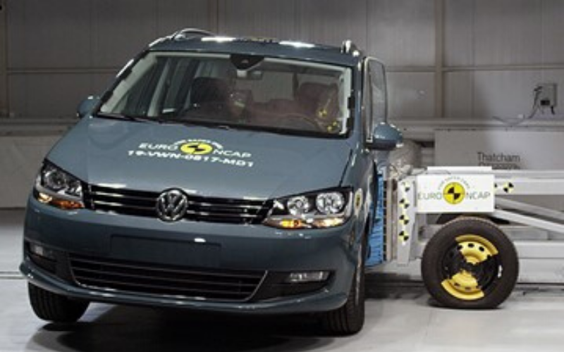The Volkswagen Sharan Receives High Marks In Euro NCAP