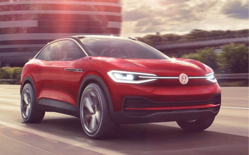 Volkswagen Showcases The ID. Crozz At Auto Expo 2020