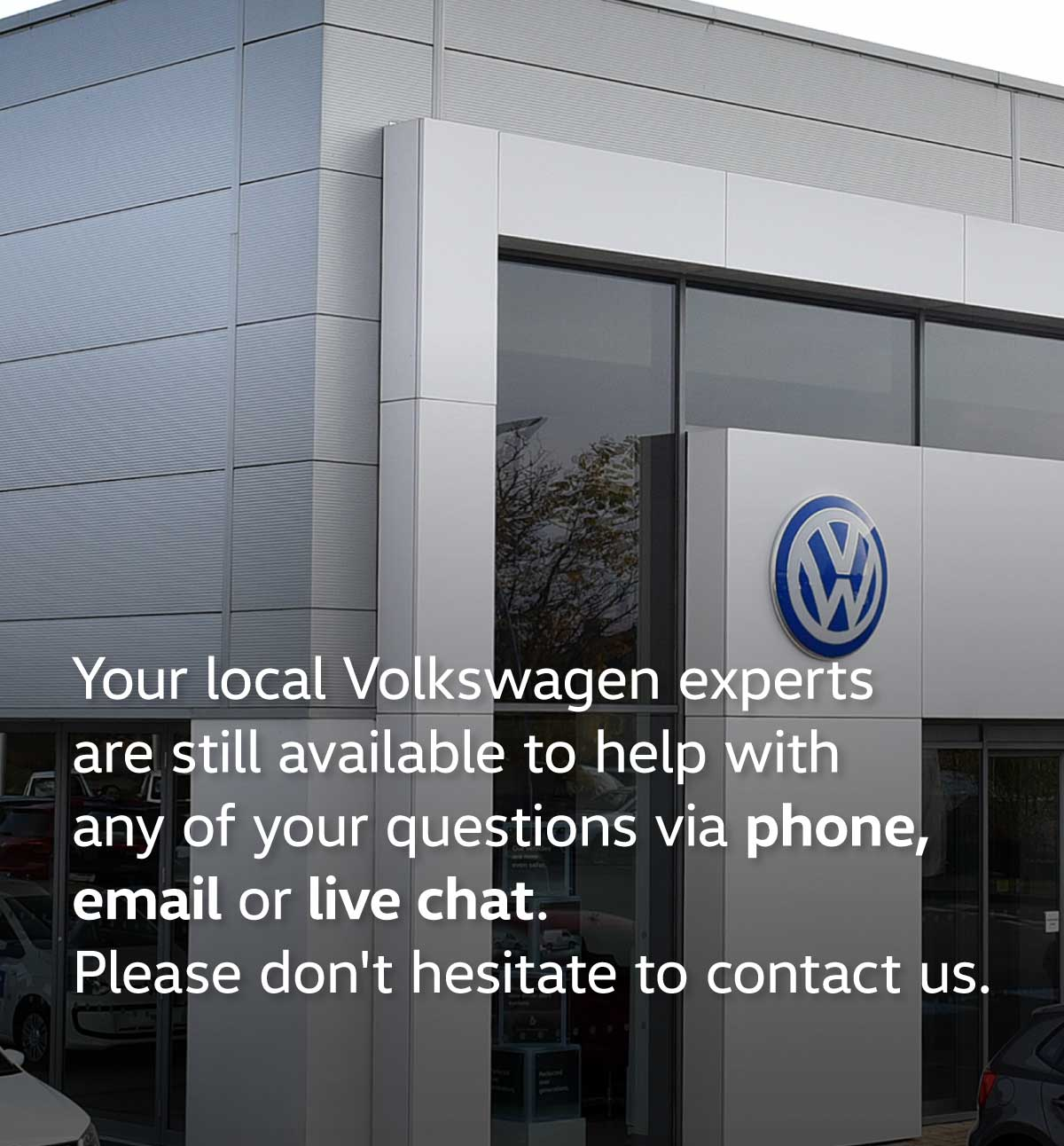 Volkswagen Temporarily Closed Message