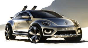 Volkswagen Beetle Dune concept set for Detroit debut