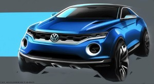 Volkswagen T-ROC up at Geneva show