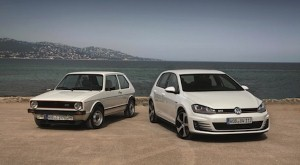 Volkswagen celebrates 40 years of Golf