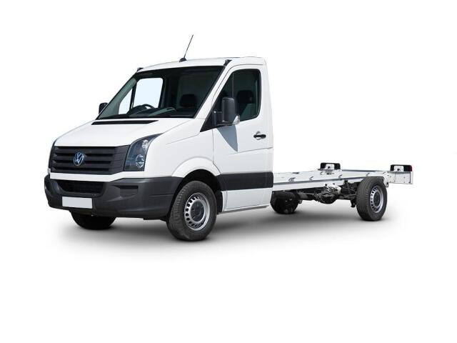 Volkswagen Crafter Cr35 Lwb Diesel 2.0 Tdi Bmt 109Ps Chassis Cab