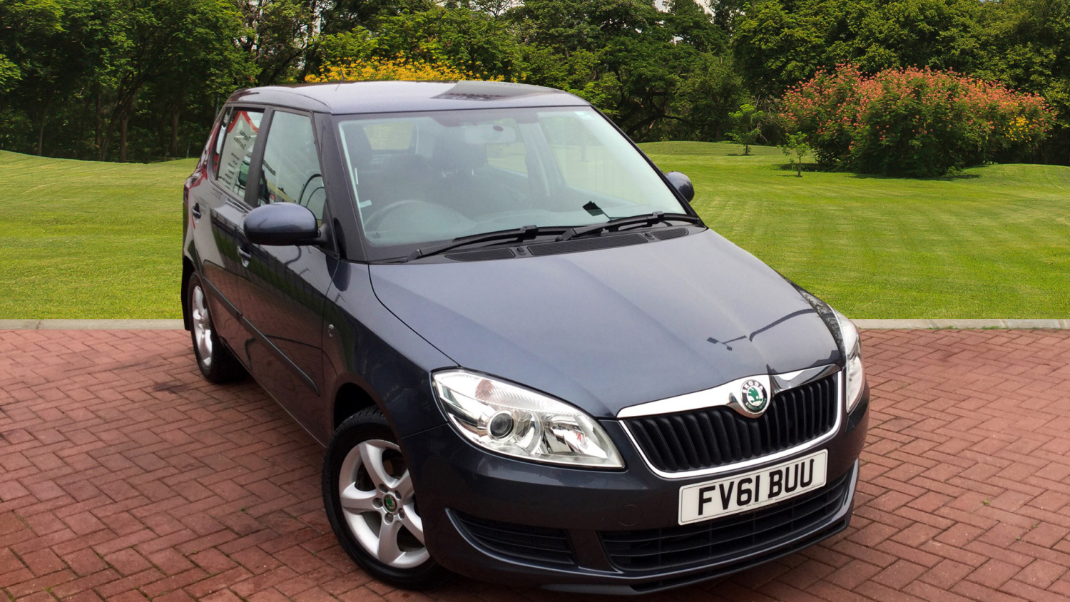 used skoda fabia 1 6 tdi cr se 5dr diesel hatchback for. Black Bedroom Furniture Sets. Home Design Ideas