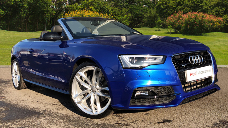 Audi A5 3.0 TDI 204 S Line Special Ed Plus 2dr Multitronic Diesel Convertible