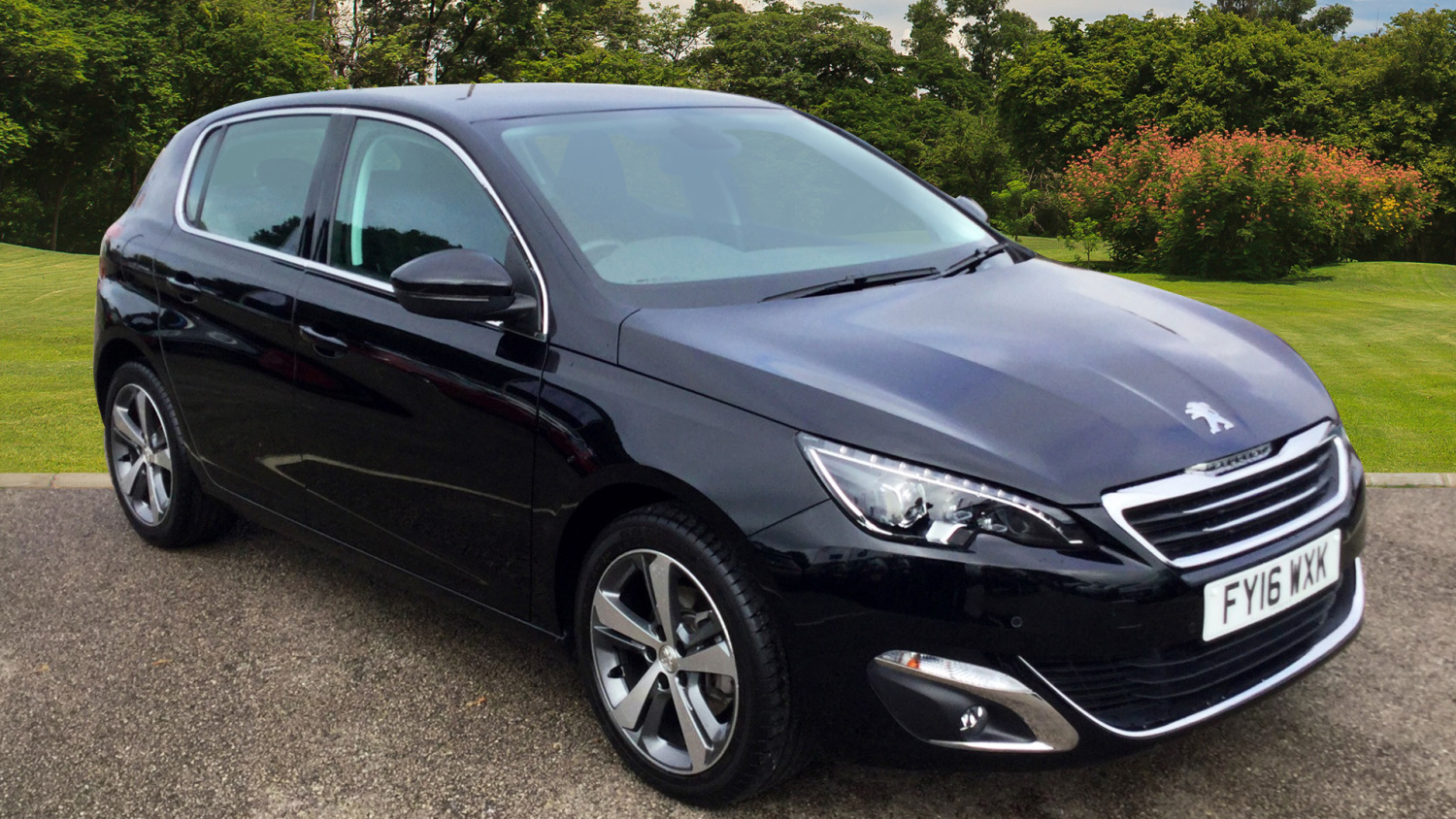 used peugeot 308 1 2 puretech 130 allure 5dr eat6 petrol hatchback for sale vertu volkswagen. Black Bedroom Furniture Sets. Home Design Ideas