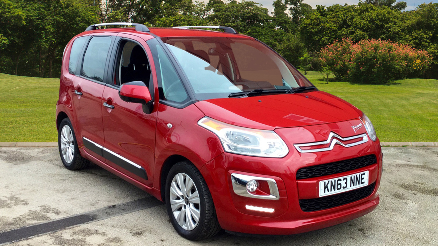 used citroen c3 picasso 1 6 hdi 8v exclusive 5dr diesel. Black Bedroom Furniture Sets. Home Design Ideas