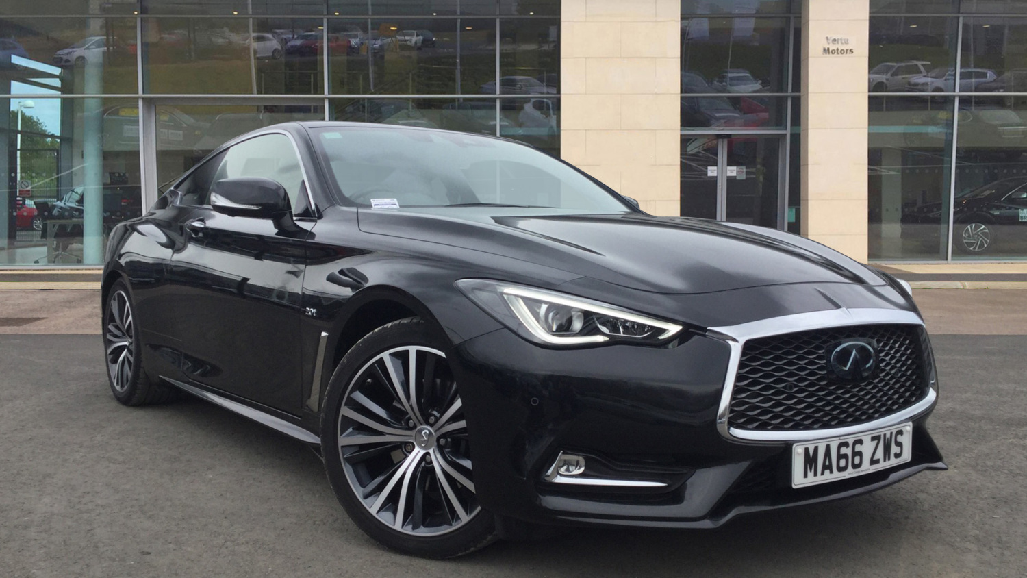 used infiniti q60 2 0t premium tech 2dr auto petrol coupe for sale vertu volkswagen. Black Bedroom Furniture Sets. Home Design Ideas