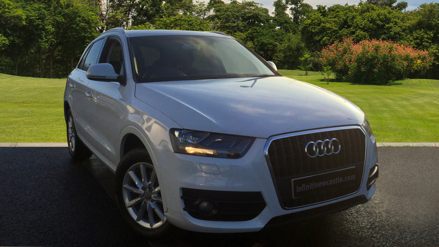 used audi q3 2 0 tdi se 5dr diesel estate for sale vertu volkswagen. Black Bedroom Furniture Sets. Home Design Ideas