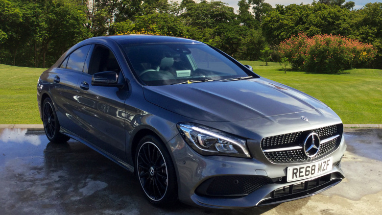 Mercedes-Benz CLA Cla 220D Amg Line Night Edition Plus 4Dr Tip Auto Diesel Saloon