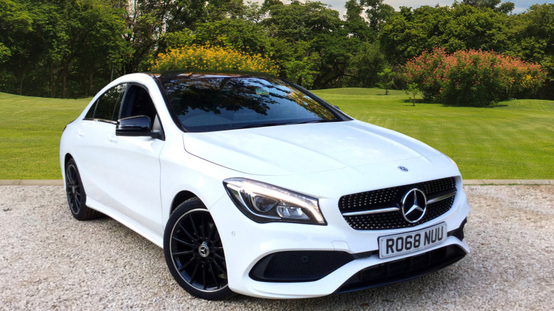 Mercedes-Benz CLA 200 AMG Line Night Edition Plus 4dr Tip Auto Petrol Saloon