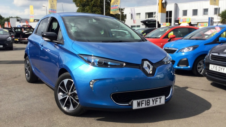Renault Zoe 65kW i-Dynamique Nav Quick Charge 41kWh 5dr Auto Electric Hatchback