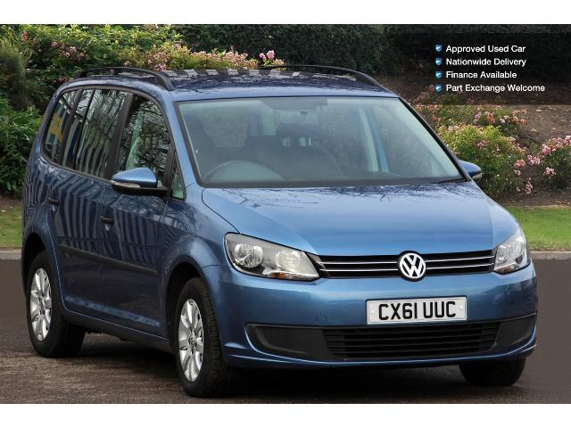 used volkswagen touran 1 6 tdi 105 s 5dr diesel estate for sale vertu volkswagen. Black Bedroom Furniture Sets. Home Design Ideas