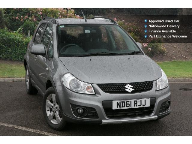 used suzuki sx4 1 6 sz5 4x4 5dr petrol hatchback for sale vertu volkswagen. Black Bedroom Furniture Sets. Home Design Ideas