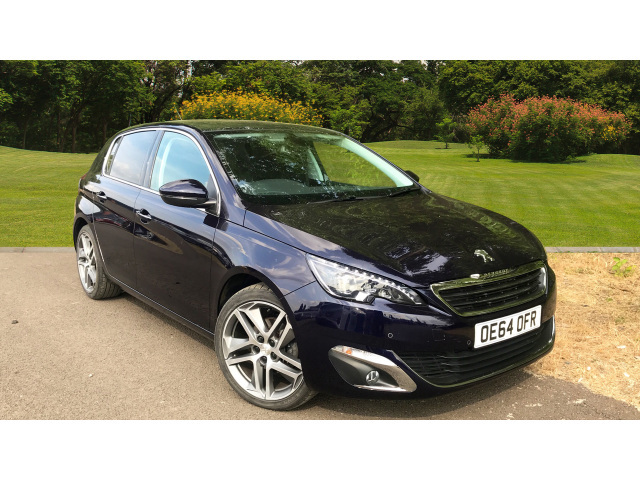 used peugeot 308 1 2 e thp 130 puretech feline 5dr petrol. Black Bedroom Furniture Sets. Home Design Ideas